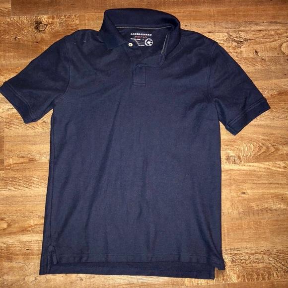 Other - 🚨SALE 🚨Men's Navy Blue Saddlebred Polo Shirt